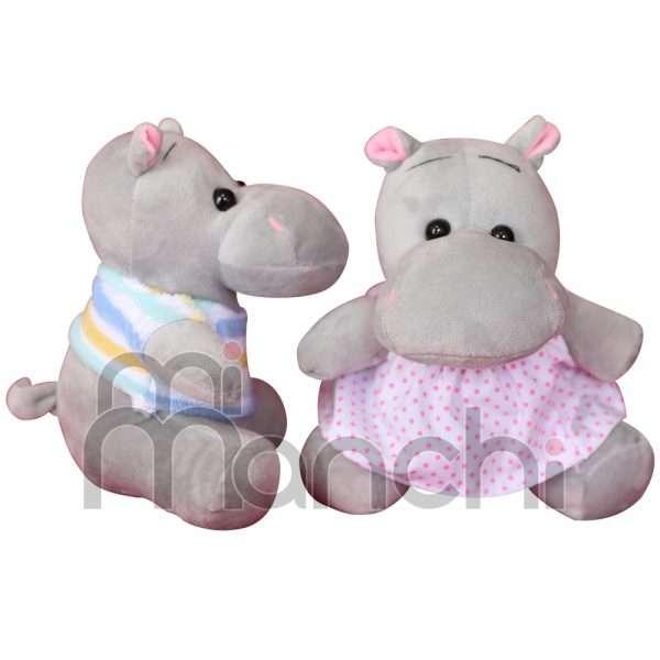peluches de hipopotamo